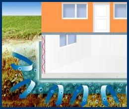 Wasserabweisende Funktion des Kellers